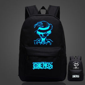 One Piece Luffy Luminous Backpacks