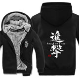 Warm Attack on Titan Hoodie