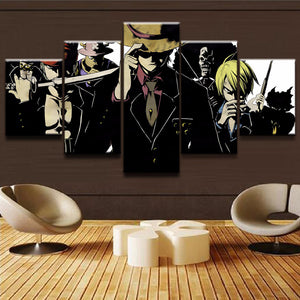 Wall Art One Piece Strong World | Anime Unity