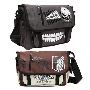 Tokyo Ghoul and Attack on Titan Bag