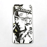 Naruto iPhone Case Black/White | Anime Unity