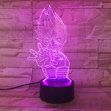 Dragon Ball Vegeta 3D Night Light | Anime Unity