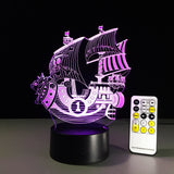 One Piece Chopper and Sunny 3D Night Light | Anime Unity