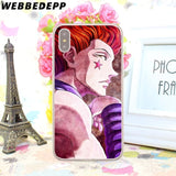Hisoka Hunter X Hard Phone Case for iPhone