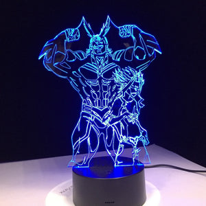 Boku no Hero All Might 3D Night Light | Anime Unity