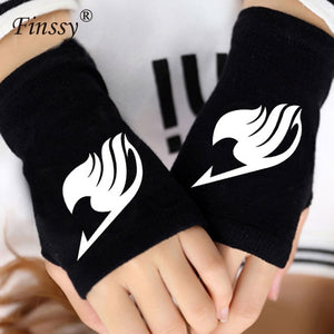 Fairy Tail Warm Half Finger Gloves