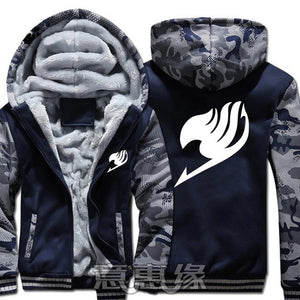 Winter Warm Fairy Tail Hoodie Blue/Only Insignia
