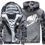 Winter Warm Fairy Tail Hoodie Dark Grey/Insignia
