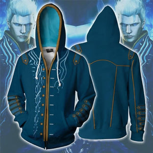 DmC: Devil May Cry 5 Vergil Zip Up Hoodie
