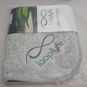 Golf Greenside Towel in packaging