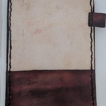 Load image into Gallery viewer, Leather Scorecard Holder Scorecard Side