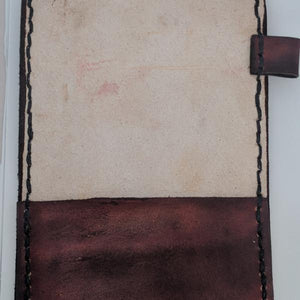 Leather Scorecard Holder Scorecard Side