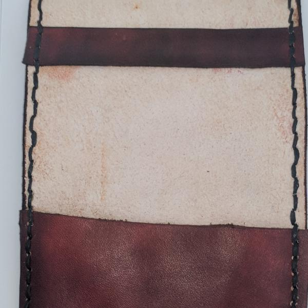 Leather Scorecard Holder Yardage Book Side