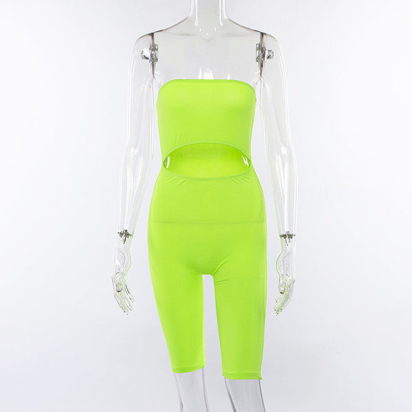 NEON VIBES ROMPER / SIZE S-L