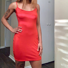 Load image into Gallery viewer, RED BODYCON DRESS / SIZE S-XXL