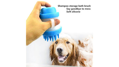 Shampoo Storage bath brush 2 in 1.