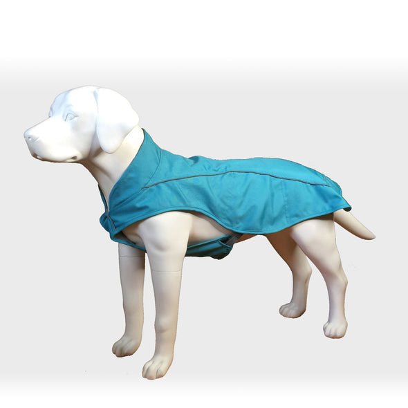 Dog Raincoat Blue Whole