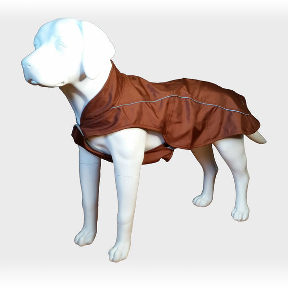 Dog Raincoat Brown Whole