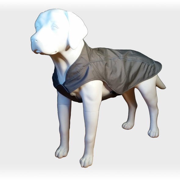 Dog Raincoat Grey Whole