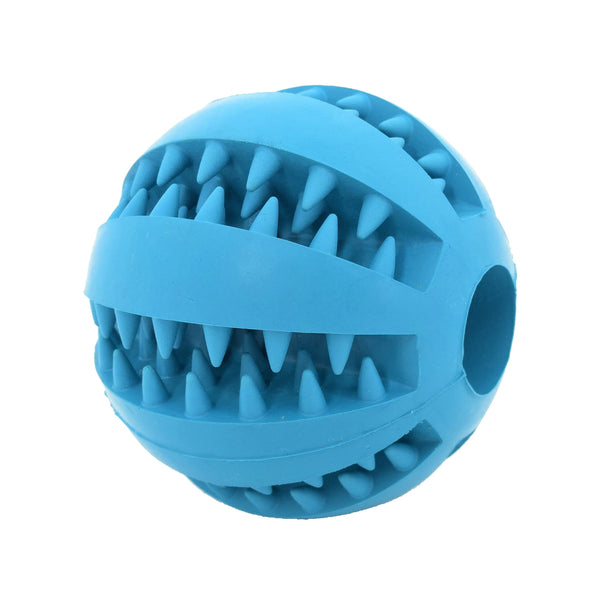 Dog Treat Entertainment Ball Blue