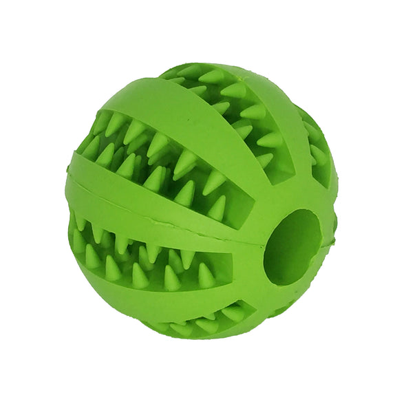 Dog Treat Entertainment Ball Green