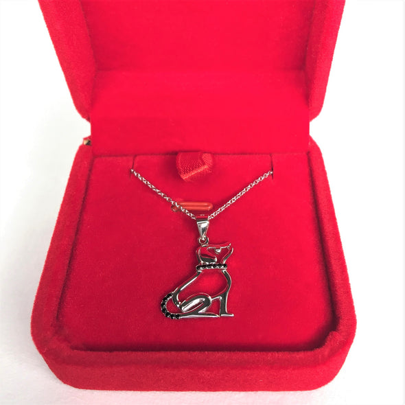 Loyal Dog Necklace - S925 Sterling Silver