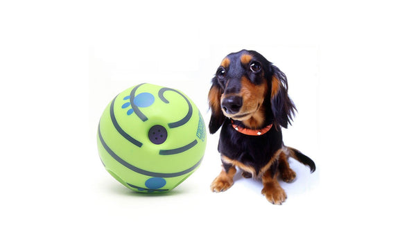Wobble Wag Giggle Ball Fun Interactive Dog Toy, Fun Giggle Sounds