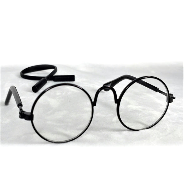 Glasses for Dog or Cat Black Rim 1