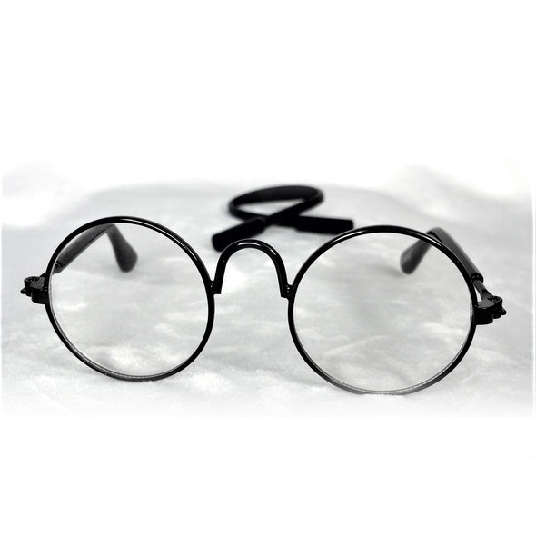 Glasses for Dog or Cat Black Rim 2
