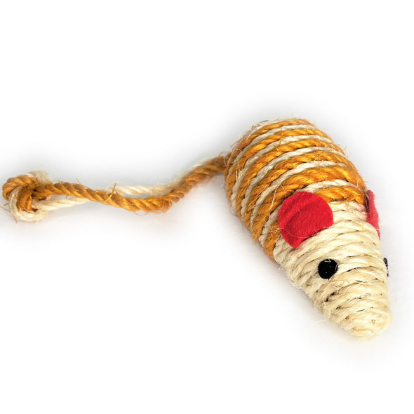 Jute Twine Mouse Orange Right