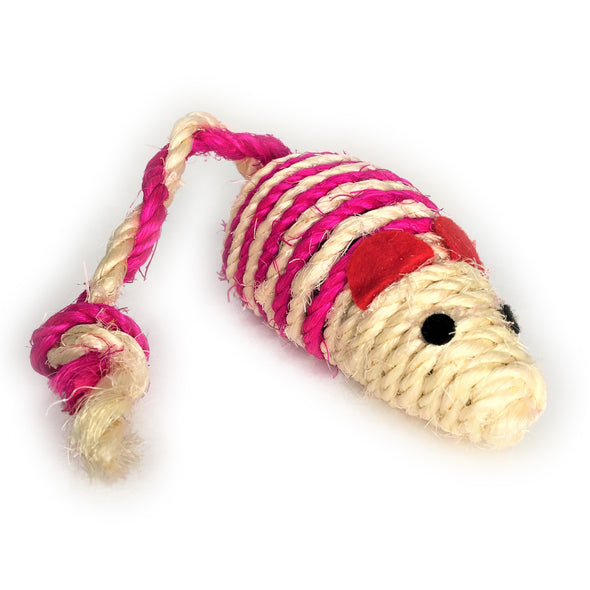 Jute Twine Mouse Pink Right