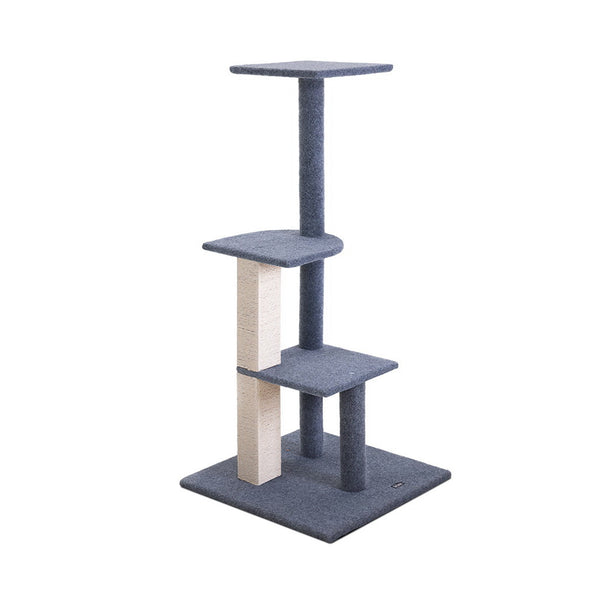 i.Pet 124cm Cat Scratching Post - Grey