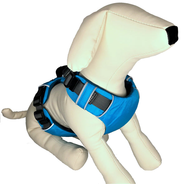 Padded Dog Harness Left Side