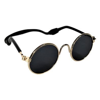 Sunglasses for Dog or Cat Gold Rim