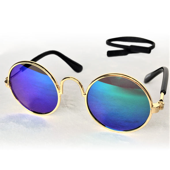 Sunglasses for Dog or Cat Mirrored Blue