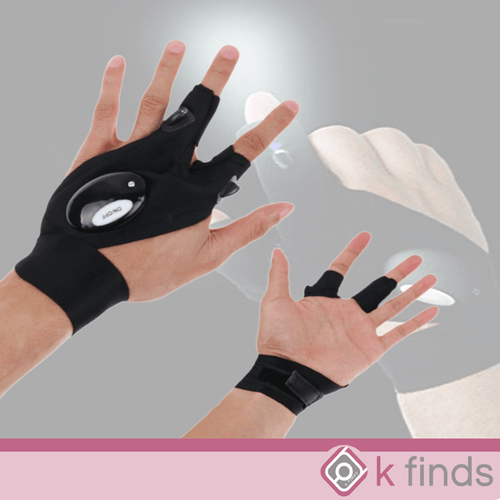 Finger Glove Flashlight