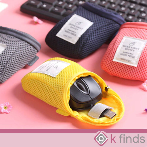 Mouse Case and Accessories Pouch