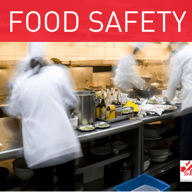 Restaurants Canada's Top Food Safety Tips