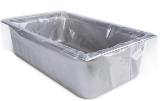 PanSaver Clear 42002 Deep Ovenable Pan Disposable Liner Fits Up To 6""