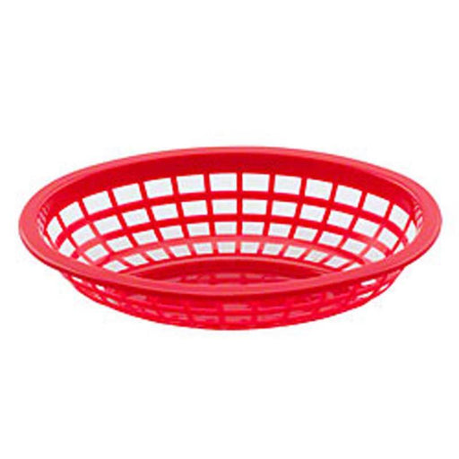 Round Basket - Red