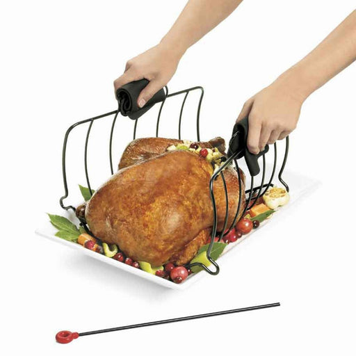Browne® 746780 Collapsible Roast Rack