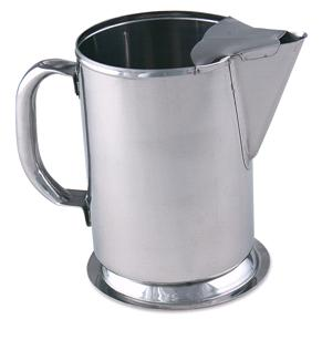Browne® S980 64 oz Water Pitcher, w/ Ice Guard