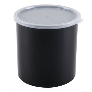 1.5 Qt Black Crock
