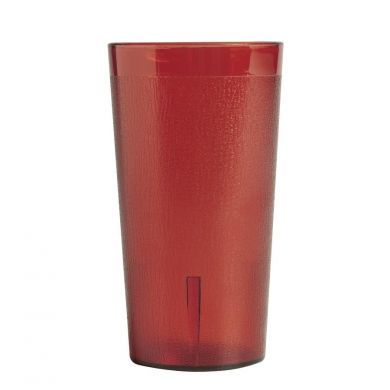 20oz Red Plastic Tumbler