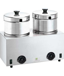 Twin Food Warmer With Insert