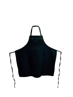 Hunter Green Bib Apron No Pockets