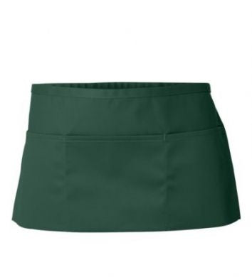 Hunter Green Three Pocket Change Apron