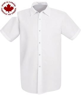 XLarge White Cook Shirts With Snaps