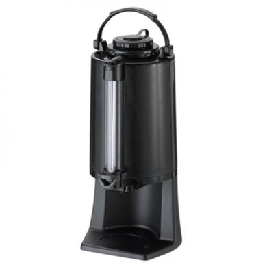 2.5-liter Glass-Lined Airpot w/ Stand, Draw Off Dispensing