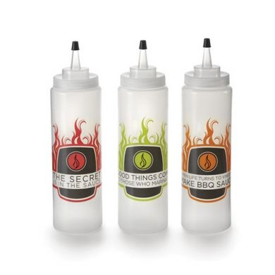 16oz Squirt Bottle Set Of 3